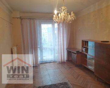 Exkluzívne na predaj  2 izbový tehlový byt s dvomi balkónmi, Námestie Slobody, Zvolen