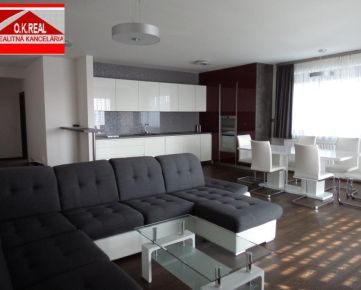 Ponúkame na prenájom krásny, veľký 4 izbový moderný byt vnovostavbe, lokalita Karlova Ves, ulica Pernecká