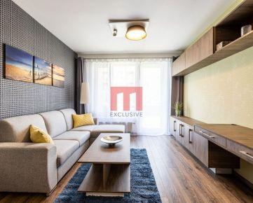 Na prenájom úplne nový 2 izbový byt s predzáhradkou a parkovacím miestom v projekte BORY 2 Nový dvor