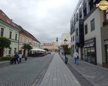 Obchodný priestor na prenájom, historické centrum, Trnava