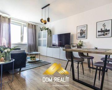 DOM-REALÍT ponúka 2izbový byt na Sputnikovej ulici v Ružinove s 3D prehliadkou