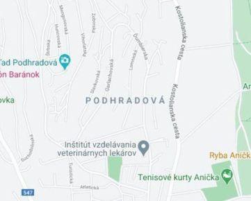 Prenájom garáže Košice - Podhradová