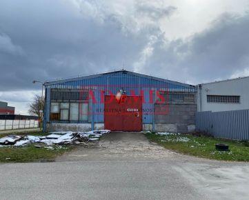 ADOMIS - ponúkam na predaj priemyselnú halu, ulica Rozvojová, Košice-Juh