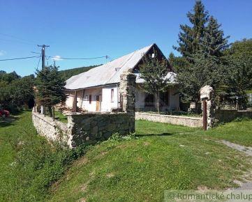 Pekná čiastočne zrekonštruovaná chalupa vhodná aj na trvalé bývanie v obci Počúvadlo