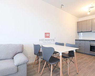 HERRYS - Na prenájom slnečný zatiaľ neobývaný 3 izbový byt v novostavbe NUPPU v Ružinove