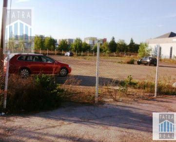 BA II, Trnávka, za BC ARUBA a NC KIKA na Galvaniho ul. 11 - prenájom voľných parkovacích miest pre motorové vozidlá