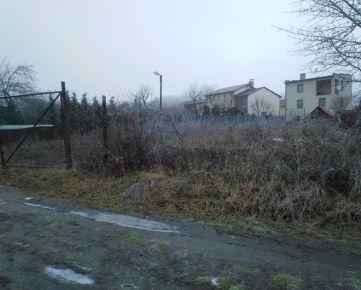 POZEMOK NA VÝSTAVBU CHATY v mestskej časti KOŠICE - KRÁSNA