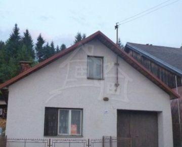 Nová znižená cena !!! Vidiecky domček na rekonštrukciu pod Kráľovou hoľou