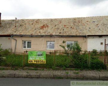 Nová cena! Menší rodinný dom v starej časti mesta Detva