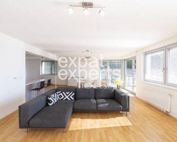 Priestranný 4i byt, 132 m2, čiastočne zariadený, terasa