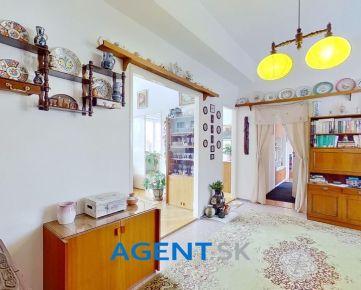 AGENT.SK Veľkometrážny 2-izbový 88m2 byt v centre Žiliny