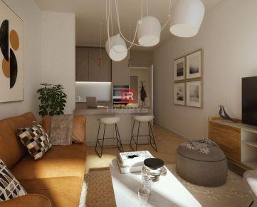 HERRYS - Na predaj 1 izbový apartmán s balkónom v novom rezidenčnom projekte METROPOLIS