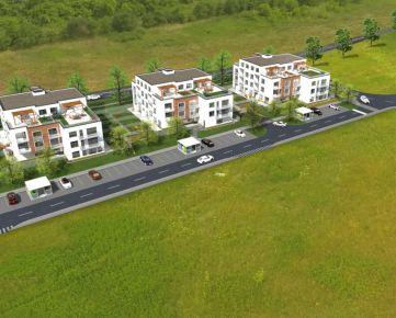DUBOVÁ ALEJ - 2izbový byt (SO.01, byt E.1.I) s terasou a predzáhradkou, Ivanka pri Dunaji