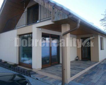 TOP! Rodinný dom - novostavba na samote v prekrásnej prírode na predaj.