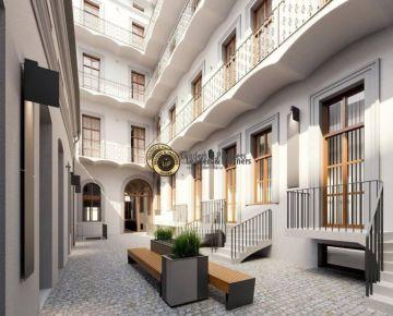 Nový bytový projekt, 2+kk, po celkové rekonstrukci, Praha 1
