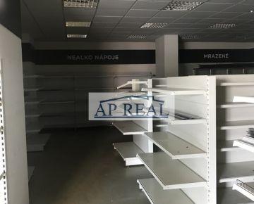 Obchodný priestor v centre Petržalky s kompletným zariadením predajne + sklad, nám. Hraničiarov