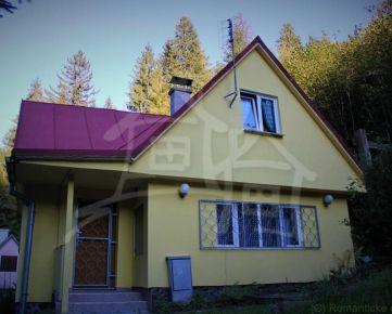 Zrekonštruovaná chata Kokava Línia