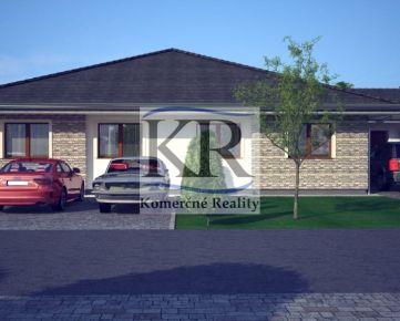 Novostavba 4 izb. Rodinného domu A s terasou v Galante na predaj