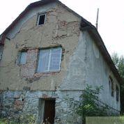 Chalupa, rekreačný domček 65m2, pôvodný stav