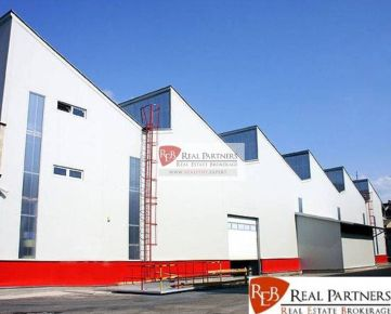 REB. sk Predáme výrobnú halu v priemyselnom areáli v Trnave.
