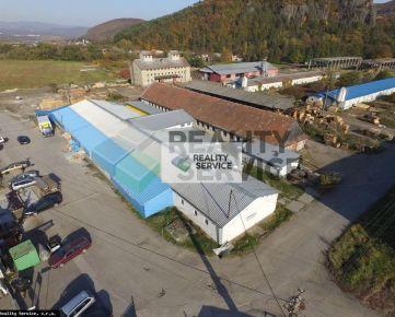 Na predaj VÝROBNÁ HALA, Žiar nad Hronom - P551
