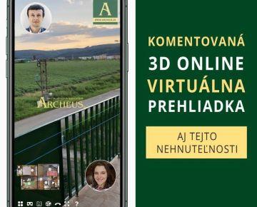 3D PREHLIADKA / NA PRENÁJOM 3,5 IZBOVÝ BYT 89m2 S BALKÓNOM 5m2, SOLIVAR