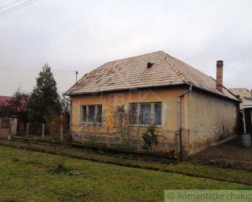 NOVÁ CENA!!!!Gazdovský dom so záhradou blízko Lučenca