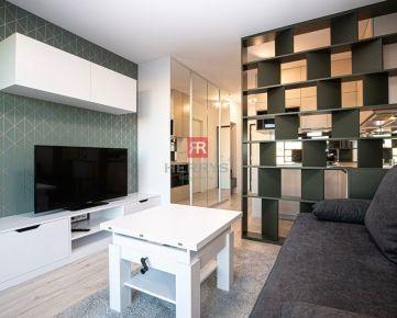 HERRYS - Na prenájom moderná garsónka zariadená architektom v novostavbe Urban Residence