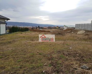 Stavebný pozemok v Prešove, k.ú. Šalgovík - ul. Astrová, 631 m2