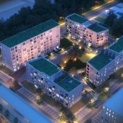 2-izb. byt 45m2, developerský projekt