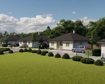 Projekt - Pri parku, predaj 4 izb. rodinných domov v tichej lokalite v blízkosti lesíka, Vieska, Orechová Potôň, Dunajská Streda