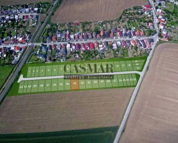 CASMAR RK - Veľký stavebný pozemok v novej lokalite