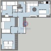 4-izb. byt 80m2, pôvodný stav