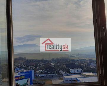 Rezervované - 3.izbový byt Žilina-Solinky s krásnym výhľadom. Okamžite voľný