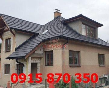 Na predaj rodinný dom v Banskej Bystrici, mestská časť – Sásová
