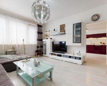 Rekonštruovaný 3-izb. byt na začiatku Petržalky