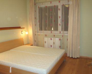 Prenájom pekný veľký 3 izbový byt s garážovým státím v NOVOSTAVBE, Klenová ulica, Bratislava III. Kramáre