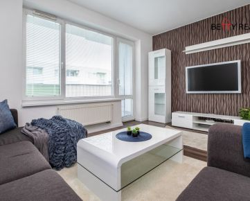 3i byt BA - Ružinov, Na piesku, NOVOSTAVBA, 81,30 m2, slnečný - výborne priestorovo a dizajnovo riešený + státie pre auto...IHNEĎ