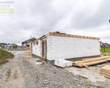 Na predaj výstavba dvoj podlažný dom, Nižná Šebastová