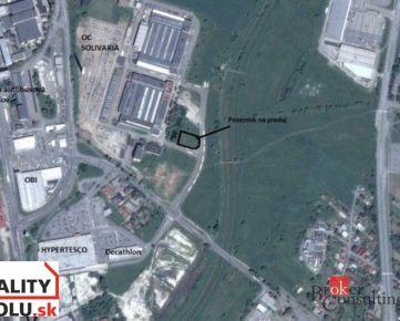 Stavebný pozemok+projekt na výstavbu polyfunkčného objektu Prešov na predaj