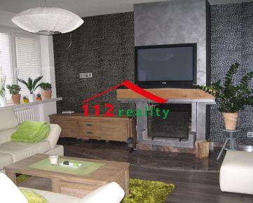 112reality - Na prenájom zariadený 5-izbový luxusný rodinný dom s garážou pre 4 autá, pre rodinu/firmu, Nové mesto, KRAMÁRE