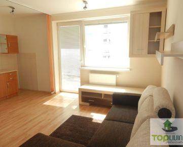 TOP Living: Zariadený 1- izbový byt s balkónom v novostavbe Milestones