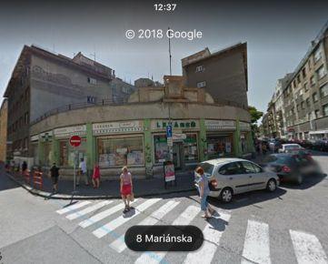 Výborná investícia  - Obchodný priestor s bonitným nájomcom v centre Bratislavy na predaj