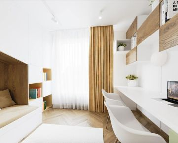 Rezidencia Bystrická! Predaj priestranného 3i bytu 78,58m2 s balkónnom a pivnicou - 1.poschodie, Ružomberok