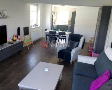 REZERVOVANÝ: 4-izbový byt 104 m2 NOVOSTAVBA-ŠVERMOVA/komplet zariadený