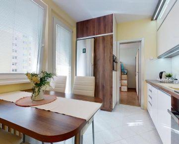 Priestranný 3.izb. byt v Podunajských Biskupiciach
