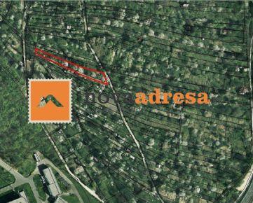 KARLOVÁ VES - predaj záhrady, 1100m2, lokalita Krčace
