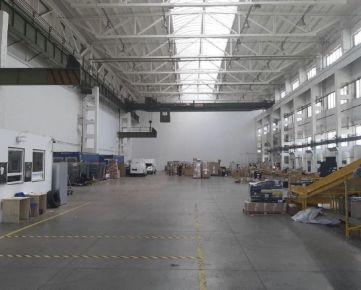 Výrobný / skladový priestor v Bratislave - Petržalka/ Production or warehouse hall in Bratislava