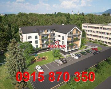 Na predaj 3 izb. byty v NOVOSTAVBE v centre mesta Banská Bystrica