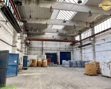 Na prenájom výrobno skladové haly 1164 m² Štrková ulica Žilina